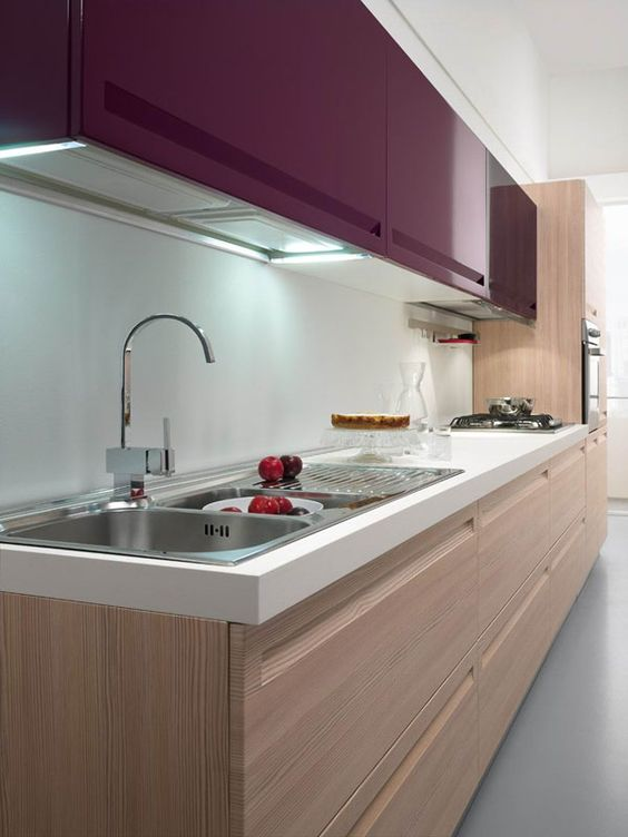 texture mauve modern kitchens texture colour cabinets purple modern