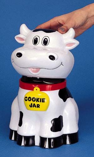 Mooing Cow Cookie Jar Objets Vache Pinterest Jars