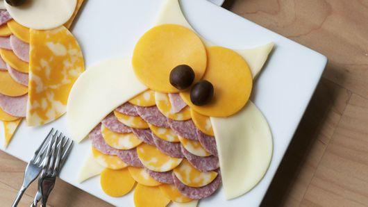 Owl Meat & Cheese Tray Recipe - Tablespoon.com