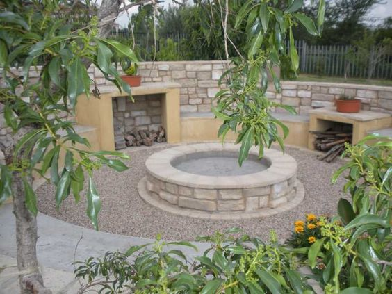 Boma With Natural Cladding Outdoor Spaces Gardening