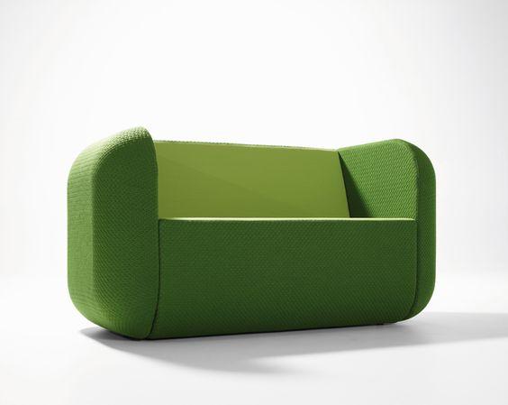 Bank groen tweezits