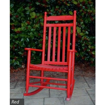 No. 410 Asheville Rocking Chair in Red