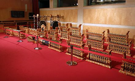 GAMELÁN A set of Javanese gamelan from the Asian Civilisations Museum. Gamelan is a generic term for traditional musical ensembles of Java and Bali made up predominantly of percussive instruments. The most common instruments are metallophones played by mallets as well as a set of hand played drums called kendhang which register the beat. Other instruments include xylophones, bamboo flutes, bowed instrument called rebab, and even vocalists called sindhen.[1]  Although the popularity of…