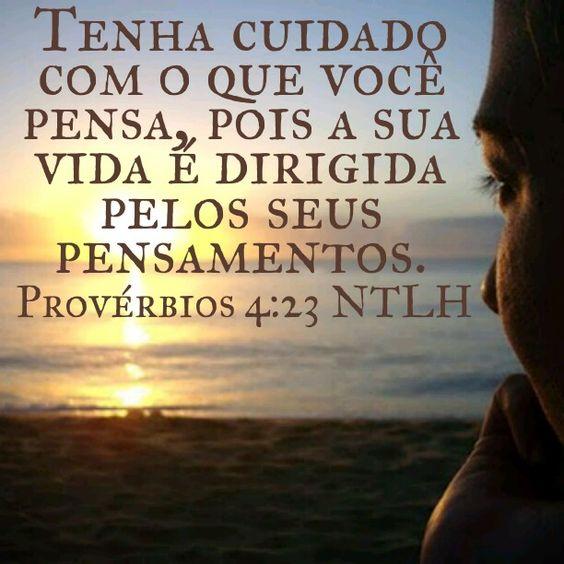 Provérbios 4.23 NTLH