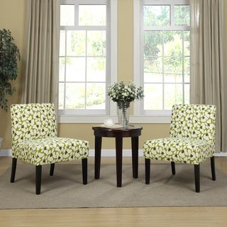 Green Accent Chairs In Living Room Forrefreshing Touch Of And Fun Images