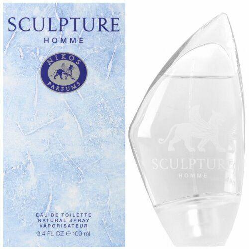 Parfum Eau De Toilette Homme Nikos Sculpture 100ml Edt Spray Classic Men Perfume Eau De Toilette Men Perfume Sculpture