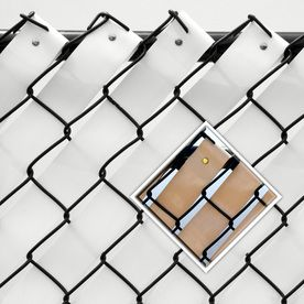 Pexco Brown Chain Link Fence Privacy Screen Fw250 S W