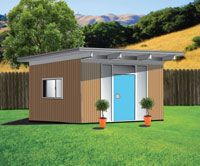 MCM shed