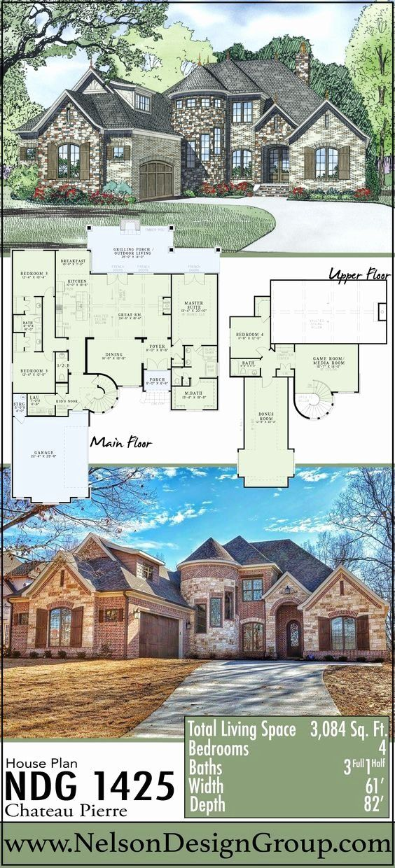 Castle Style House Plans Awesome Houses House Home Homes Homeplans Houseplans Houseplan In 2020 Castle House Plans Stone House Plans House Plans