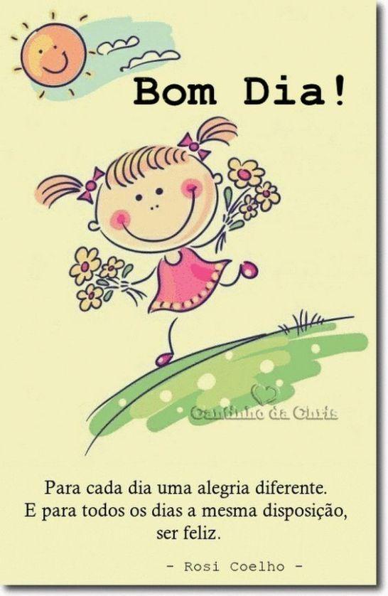 Para cada dia uma alegria diferente. e para todos os…