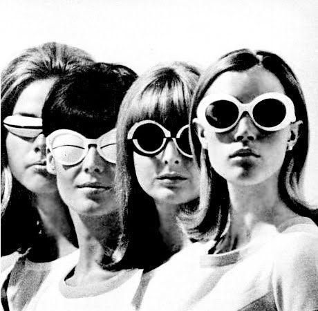 1965 Andre Courreges designs.