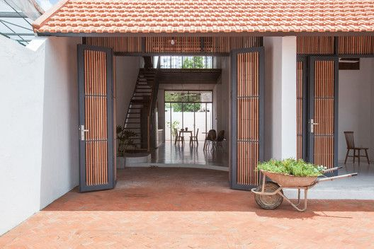 Gallery Of Tile Roof House K59 Atelier 4 House Roof Village House Design House Exterior