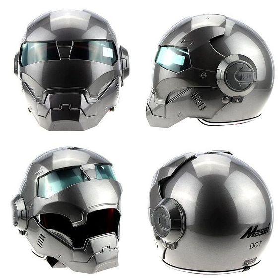 Iron Man Motorcycle Helmet - Masei