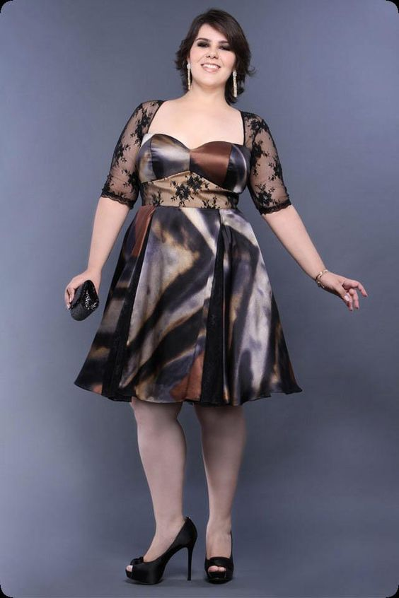 Plus Size Party Dresses Arthur Caliman