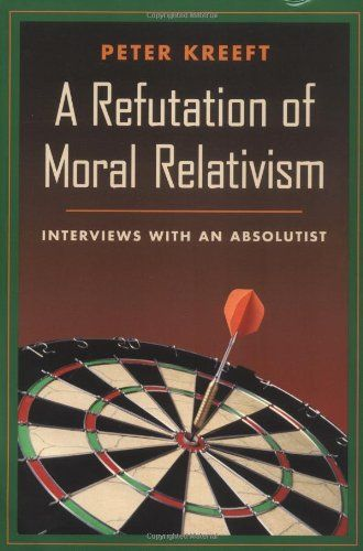 A Refutation of Moral Relativism: Interviews with an Absolutist by Peter Kreeft,http://www.amazon.com/dp/0898707315/ref=cm_sw_r_pi_dp_cxpdsb1K8EEETEW7
