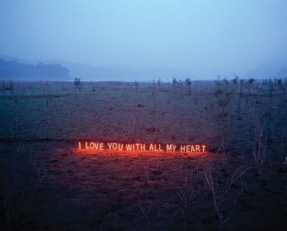 i love you: Iloveyou, Neon Text, Lee Jung, Neon Lights, My Heart, Text Installations, Jung Lee
