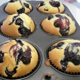 Double Blueberry Muffins | Michigan Agriculture