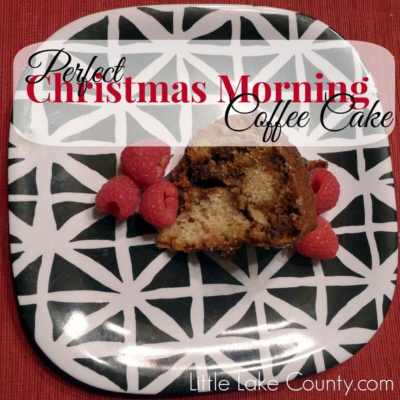 Perfect Christmas Morning Coffee Cake, #ad #PamSmartTips