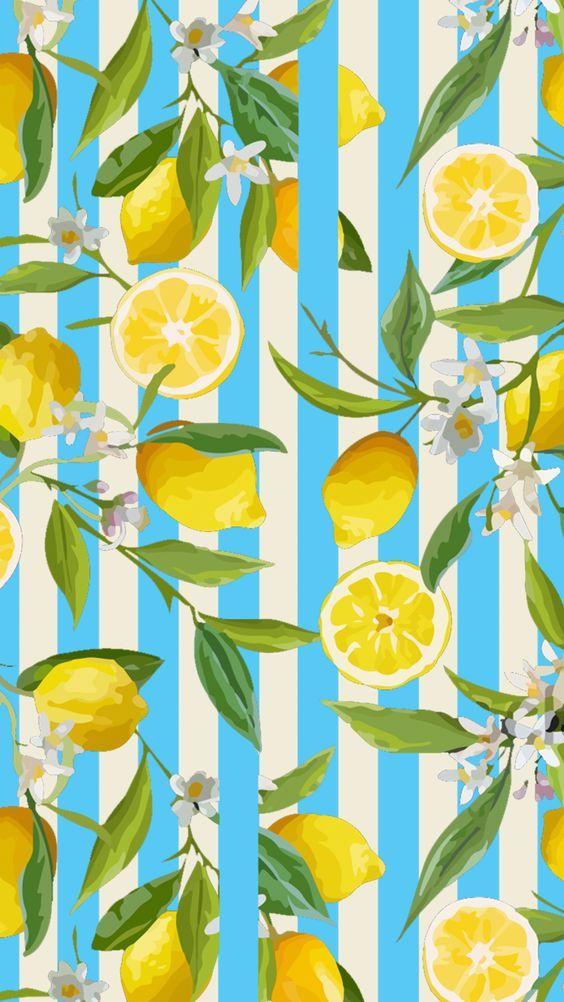 Lemon Summer Food Food Lovers Pastel Colors Wallpaper Screensaver Iphone Wallpaper Iphone Scree Pastel Color Wallpaper Summer Wallpaper Fruit Wallpaper