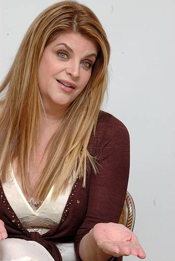 Kirstie Alley - she's never afraid to speak her mind, and she makes no apologies for doing so.