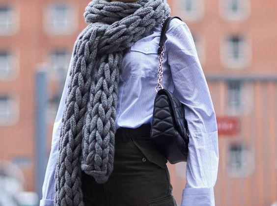 Oversize Schal
