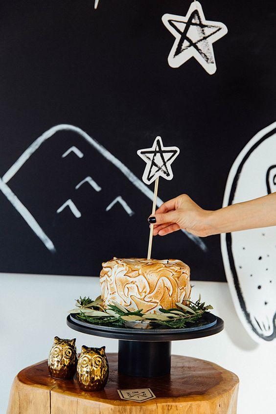 bebes tarta estrellas fiesta candybar pijama cumpleanos ideas de la fiesta de cumpleaos de los nios cumpleaos del tema ao del with fiesta de cumpleaos nios