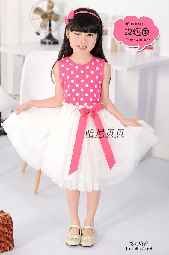 vestidos de moda para nenas de 10 años verano de moda niño niña