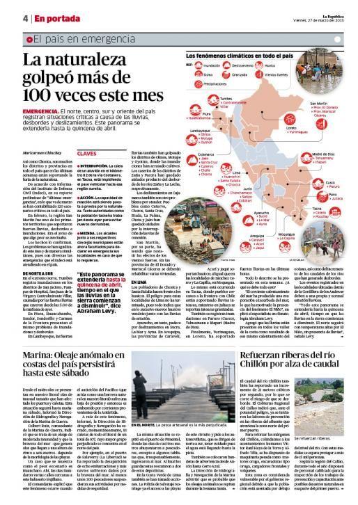 LaRepublica Lima - 27-03-2015   Pág. 5   LaRepublica.pe