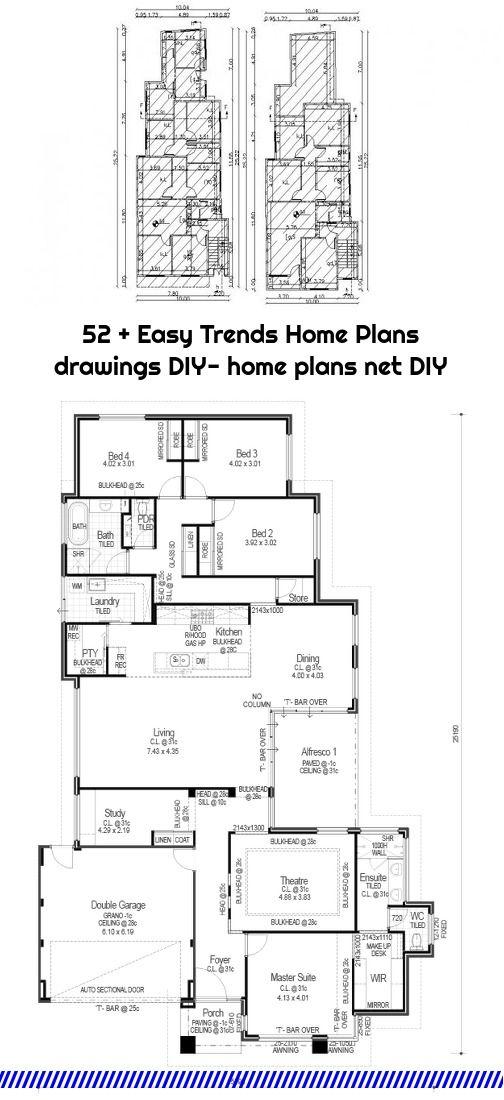 Home Plans Panosundaki Pin