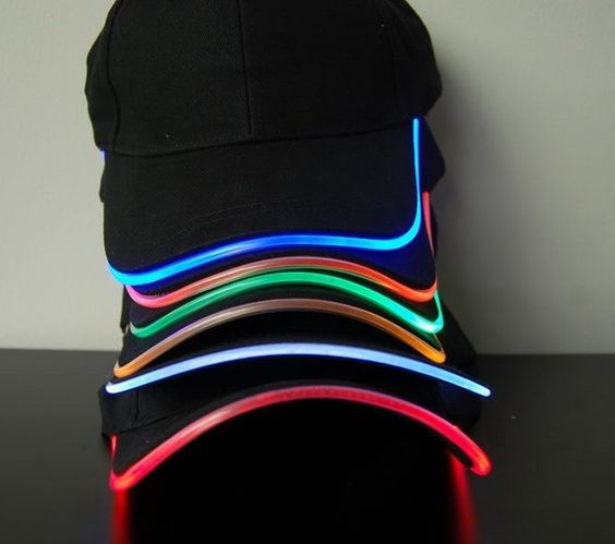 LED Lighted Glow Hat