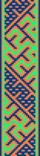 Adventures in Historical Tabletweaving: 12th Century Latvian Band