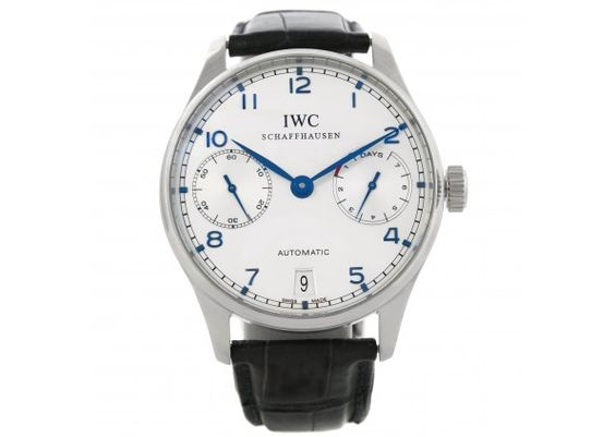 IWC Portuguese Chrono 7 day Power Reserve Automatic Watch IW500107