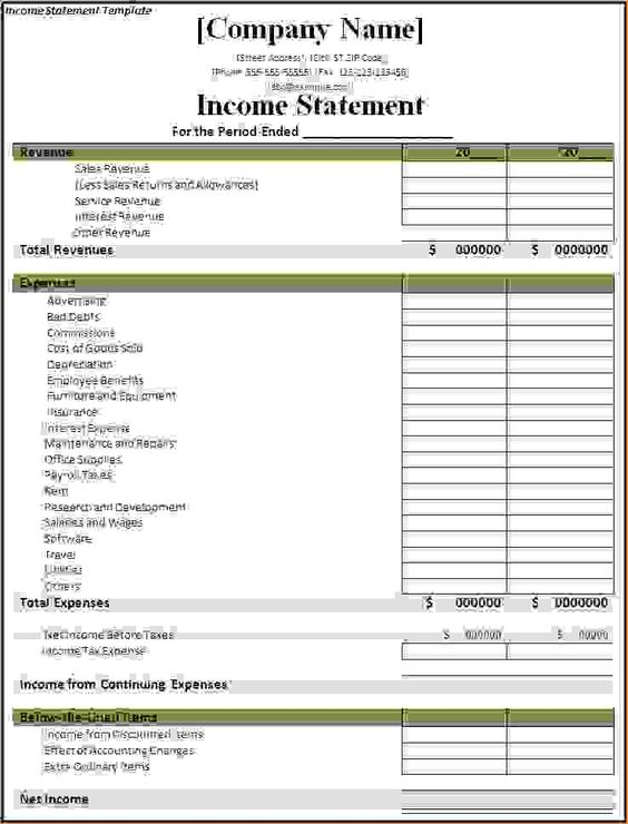 Click On The Download Button To Get This Income Statement Template   Sample  Traditional Income Statement