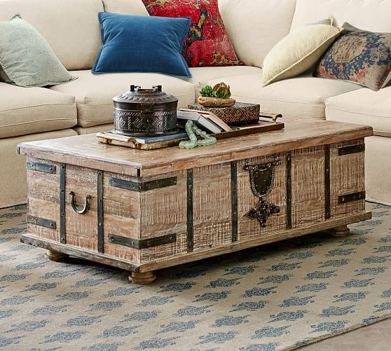 Kaplan Reclaimed Wood Lift Top Coffee Table In 2020 Artisan