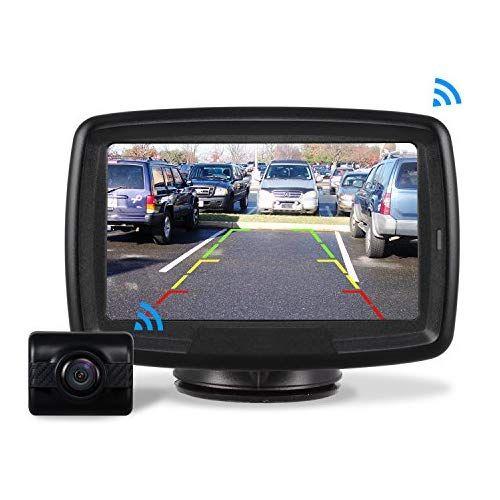 Wireless LED Car Rear View Camera Kit TFT Backup Reversing Monitor Night Vision