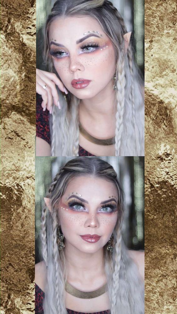 Blue Wig Wavy Bob Fashion Wigs in 2020 Elf makeup