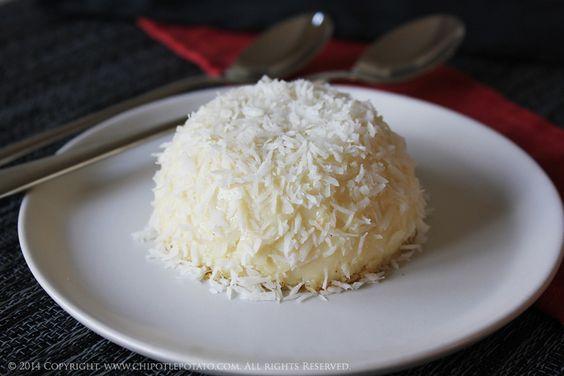 Creamy Tahitian Vanilla Bean Custard