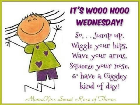 Its Wohoo Wednesday Jump Up: