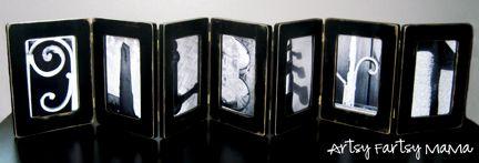 accordion name frame