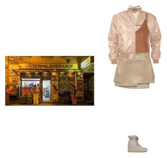 """""""Bodega pitstop"""" by kitkat12287 ❤ liked on Polyvore featuring adidas Originals, Glamorous and Helmut Lang"""