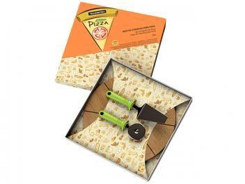 Conjunto para Pizza 3 Peças - Tramontina 25099/216