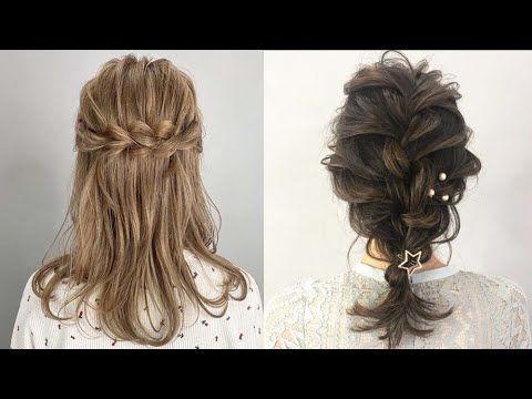 جديييد تسريحات العيد تسريحات شعر روعة للعيد للشعر متوسط الطول 2020 Hair Styles Hair Long Hair Styles
