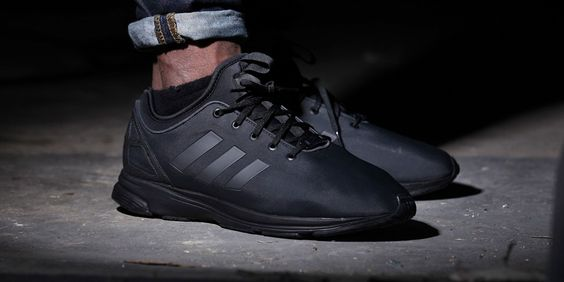 "ADIDAS ORIGINALS ZX FLUX NPS ""TRIPLE BLACK"""