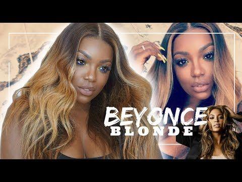 Beyonce Blonde Hair For Brown Girls Diy Youtube Beyonce Blonde