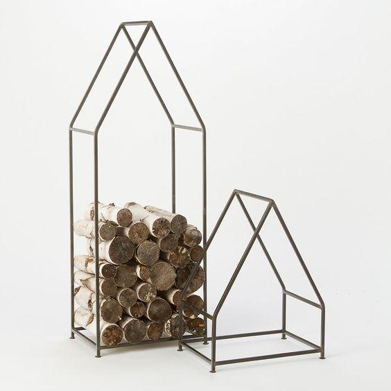 Iron Cabin Log Holder: Iron Cabin, Holder Shopterrain, Cabin Log, Log Storage, Holder 248