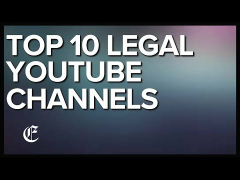 The Top 10 Legal Youtube Channels Are Presented In This Article Some Of The Channels That Made The List Include Legal Eagle Law And Crime Finance Law Student
