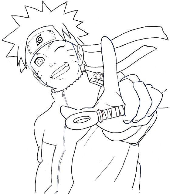 How to Draw Naruto Uzumaki Step by Step Drawing Tutorial