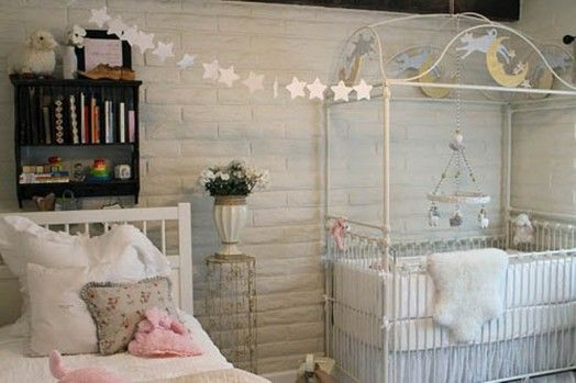 Romantic Vintage Nursery Design For A Baby Girl | Kidsomania
