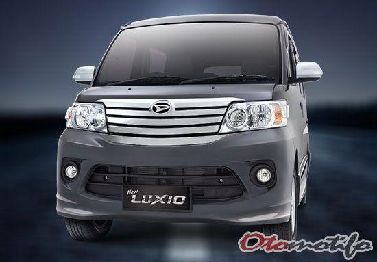 Harga Daihatsu Luxio 2021 Spesifikasi Interior Gambar Otomotifo Daihatsu Mobil Interior