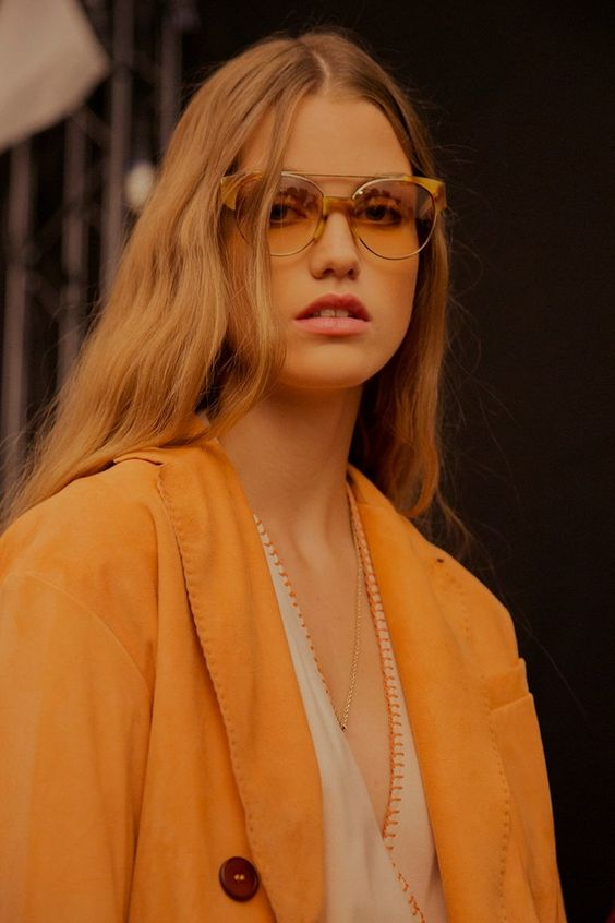 those frames...trussardi ss16: